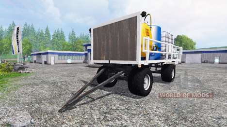 Gruber HW 80 [service] v3.0 for Farming Simulator 2015