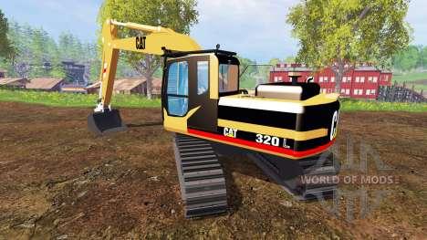 Caterpillar 320L for Farming Simulator 2015