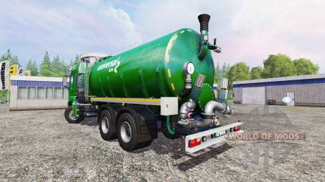 MAN TGS 18.440 [liquid manure] v3.1 for Farming Simulator 2015