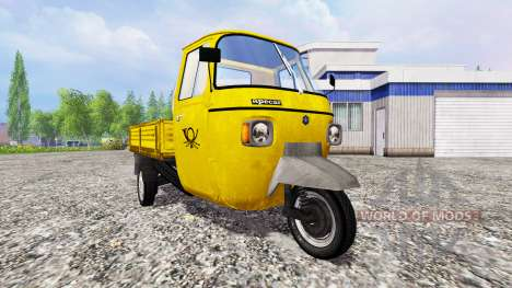Piaggio Ape P601 Post for Farming Simulator 2015