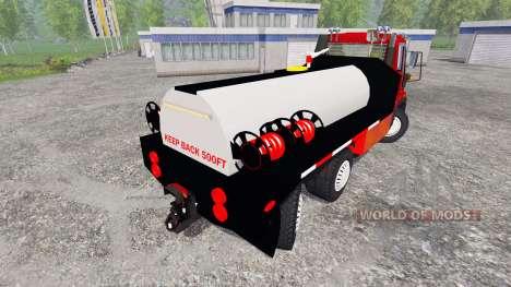 Mercedes-Benz Unimog U400 [sapeur pompier] for Farming Simulator 2015