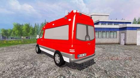 Mercedes-Benz Sprinter ELW for Farming Simulator 2015