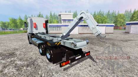 Renault Magnum [hooklift] v1.2 for Farming Simulator 2015