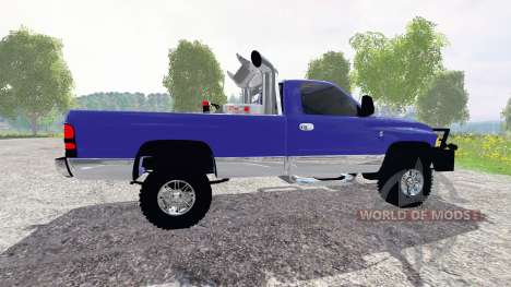 Dodge Ram 2500 service for Farming Simulator 2015