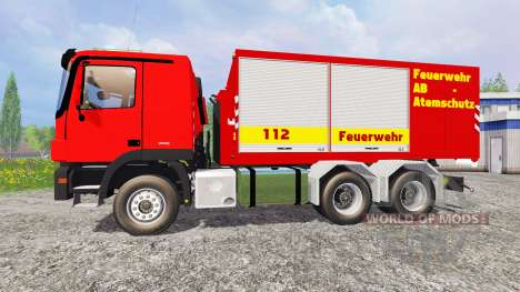 Mercedes-Benz Actros Feuerwehr for Farming Simulator 2015