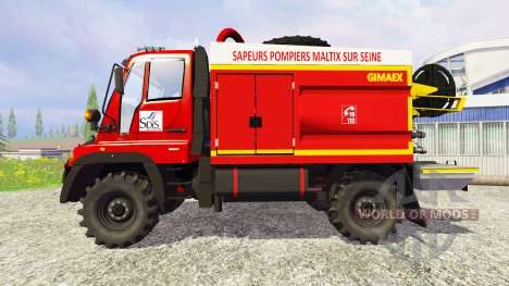 Mercedes-Benz Unimog U400 GIMAEX for Farming Simulator 2015