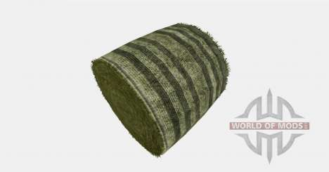 New color round bales for Farming Simulator 2015