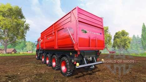 MAN TGS 10x8 v1.1 for Farming Simulator 2015