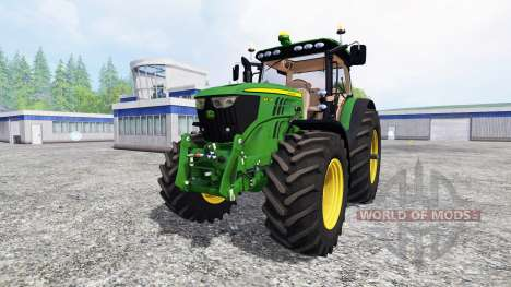 John Deere 6210R v2.0 [real run sound] for Farming Simulator 2015
