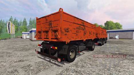 KamAZ-55102 [build] for Farming Simulator 2015
