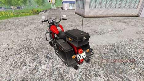 Harley-Davidson for Farming Simulator 2015