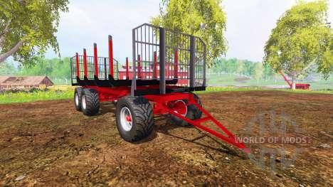 Kroger Timber v2.0 for Farming Simulator 2015