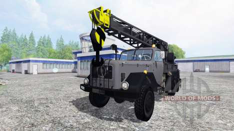 Magirus-Deutz 200D26A 6x6 [autocrane] for Farming Simulator 2015