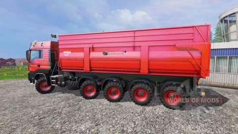 MAN TGS 10x8 for Farming Simulator 2015