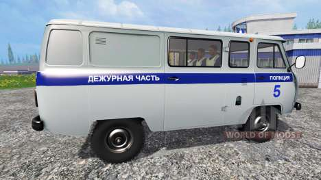 UAZ-3909 Police for Farming Simulator 2015
