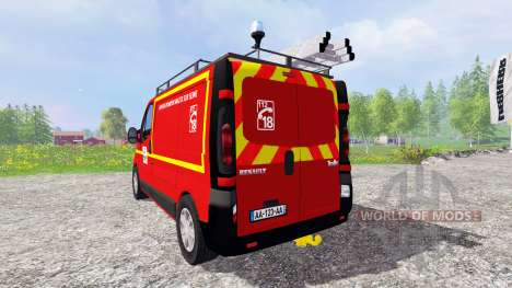 Renault Trafic VTU for Farming Simulator 2015