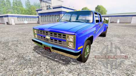 Chevrolet Silverado 1984 for Farming Simulator 2015