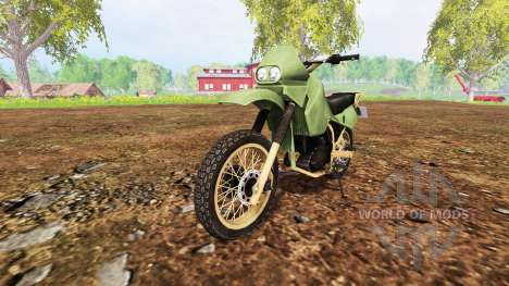 Kawasaki KR650 for Farming Simulator 2015