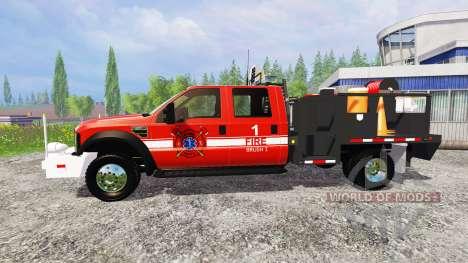 Ford F-450 [feuerwehr] for Farming Simulator 2015