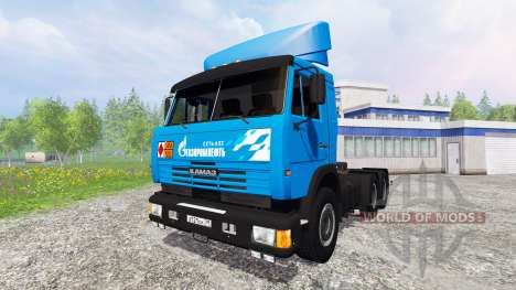KamAZ-54115 NEFT for Farming Simulator 2015