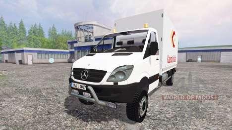 Mercedes-Benz Sprinter 313 CDI for Farming Simulator 2015