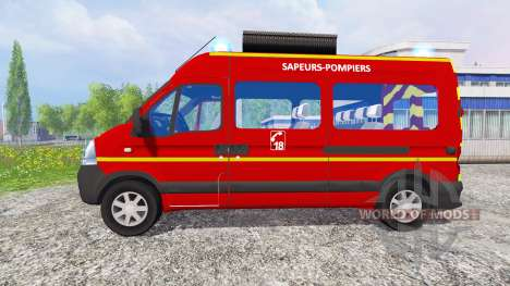Renault Master [sapeurs-pompiers] for Farming Simulator 2015