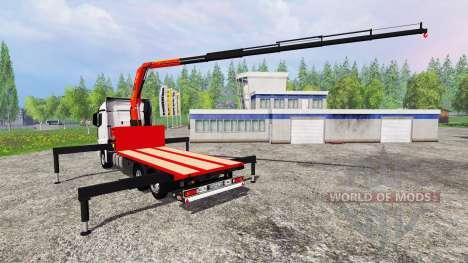 Mercedes-Benz Actros MP4 Convoi Exceptionel for Farming Simulator 2015