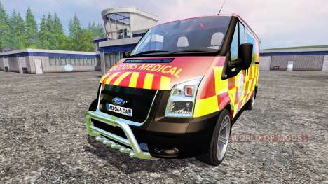 Ford Transit [secours medical] for Farming Simulator 2015
