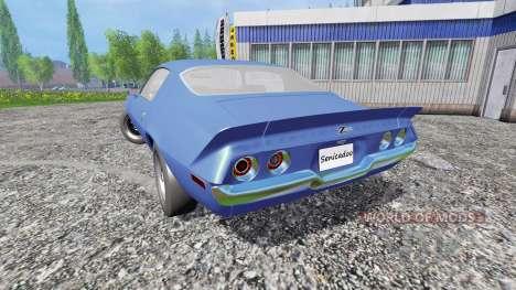 Chevrolet Camaro Z28 1973 for Farming Simulator 2015