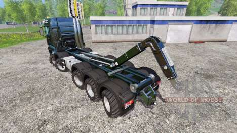 MAN TGS [container truck] for Farming Simulator 2015