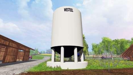 Silo Westeel for Farming Simulator 2015