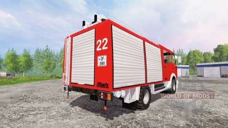 Mercedes-Benz 1222 [feuerwehr] for Farming Simulator 2015