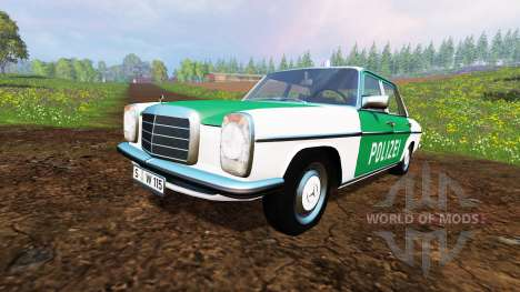 Mercedes-Benz 200D (W115) 1973 Police for Farming Simulator 2015