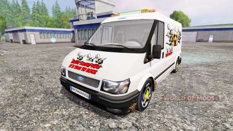 Ford Transit [party van] v2.0 for Farming Simulator 2015