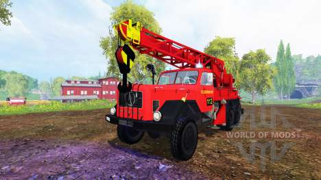Magirus-Deutz 200D26A [firemen truck crane] for Farming Simulator 2015