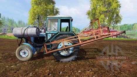 MTZ-80 Sprayer for Farming Simulator 2015