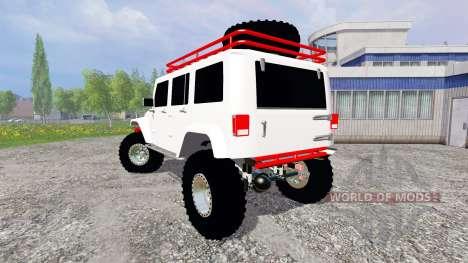Jeep Wrangler for Farming Simulator 2015