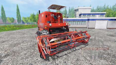 Bizon Z056 [red roof] for Farming Simulator 2015
