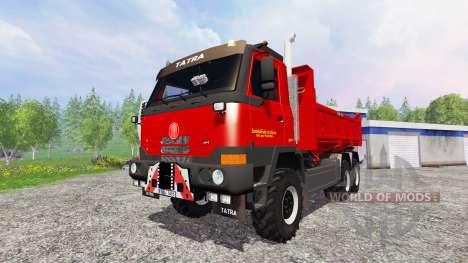 Tatra T815 TerrNo1 6x6 for Farming Simulator 2015