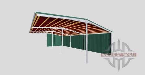 The v2 canopy.0 for Farming Simulator 2015