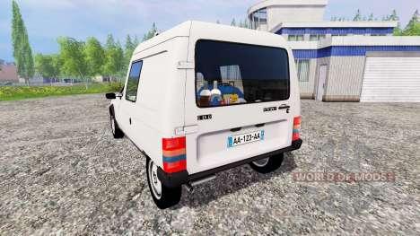 Citroen C15 for Farming Simulator 2015