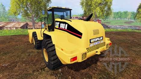 Caterpillar 980H for Farming Simulator 2015