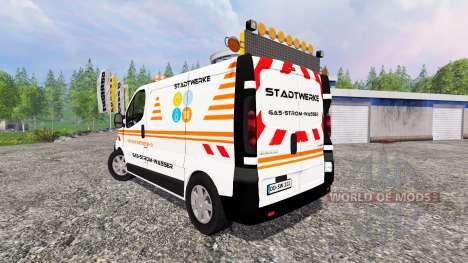 Renault Trafic [stadtwerke] for Farming Simulator 2015