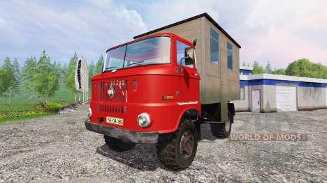 IFA W50 [passenger] for Farming Simulator 2015