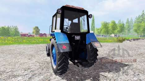 MTZ-80 Belarusian v2.0 for Farming Simulator 2015