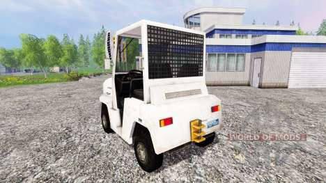 Airfield baggage tractor for Farming Simulator 2015