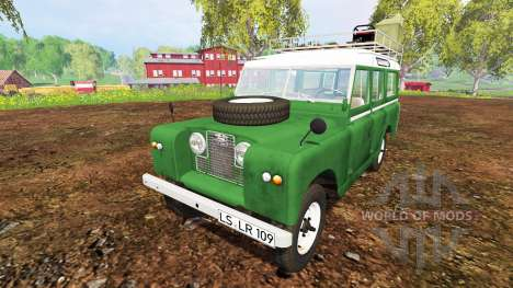 Land Rover Series IIa Station Wagon 1965 for Farming Simulator 2015