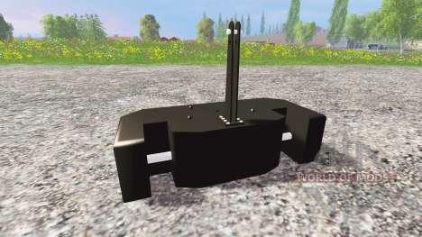 Claas Xerion for Farming Simulator 2015