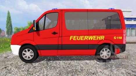 Volkswagen Crafter [feuerwehr] for Farming Simulator 2015