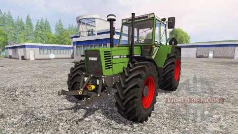 Fendt Favorit 615 LSA Turbomatic v2.0 for Farming Simulator 2015
